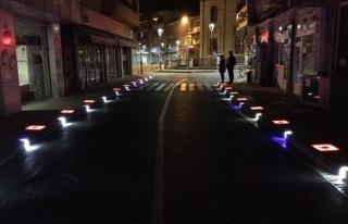 Kozlu Belediyesi'nden Işıklandırma Çalışması