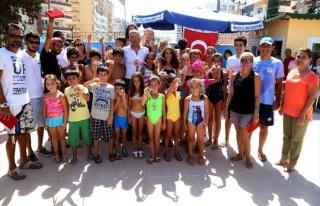 Mezitli Belediyesi Yüzme Kursu Sona Erdi