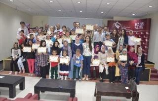 Devlet Korumasındaki Çocuklar Kuran Kursunu Başarıyla...