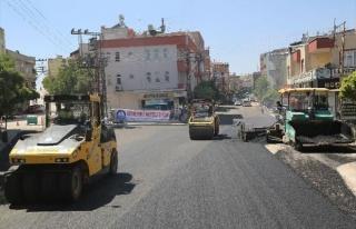 Şahinbey'den 6 Yılda 6,5 Milyon Metrekare Asfalt