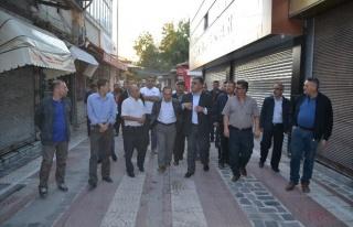 Ereğli'de Uzun Çarşı Rehabilite Edilecek