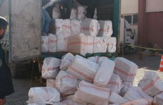 Ağrı'da 96 Bin Paket Kaçak Sigara Ele Geçirildi