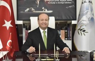 """Başkan Özakcan; """"30 Ağustos Zafer Bayramımız..."""