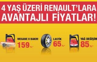 4 Yaş Üzeri Renault`lara Avantajlı Fiyatlar!