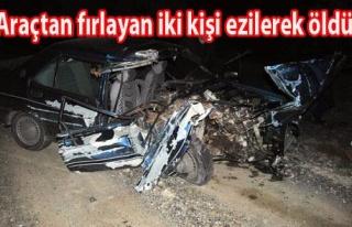 Uşak`ta Feci Kaza: 2 Ölü, 2 Yaralı