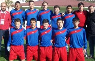 Belediyespor U-19 Takımı İlk Yarıda Lider