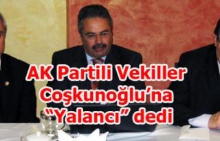 AK PARTİLİ VEKİLLER CHP Lİ VEKİL'E YALANCI DEDİ