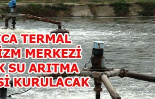 ILICA TERMAL TURİZM MERKEZİ ATIK SU ARITMA TESİSİ...
