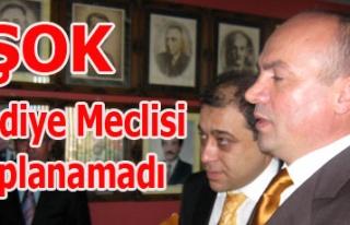 UŞAK BELEDİYE MECLİSİ TOPLANAMADI