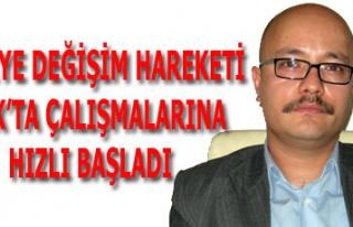 TÜRKİYE DEĞİŞİM HAREKETİ UŞAK'TA ÇALIŞMALARINA...