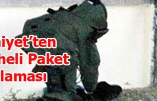 EMNİYET'TEN ŞÜPHELİ PAKET AÇIKLAMASI