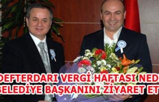 DEFTERDAR'DAN BAŞKAN'A ZİYARET
