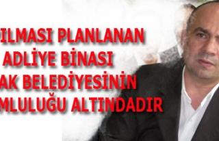 YAPILMASI PLANLANAN ADLİYE BİNASI UŞAK BELEDİYESİNİN...