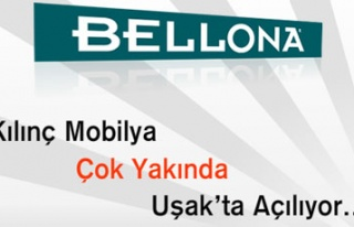 BELLONA KILINÇ MOBİLYA İLE 25 MART'TA UŞAK'TA