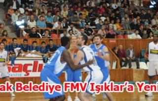 Uşak Belediye FMV Işıkspor'a Yenildi