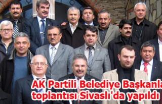 AK Partili Belediye Başkanları toplantısı Sivaslı'da...