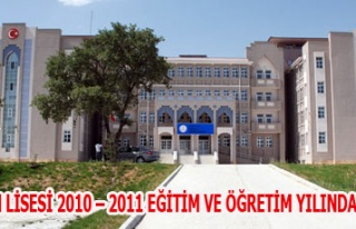 GEDİZ FEN LİSESİ 2010 - 2011 EĞİTİM VE ÖĞRETİM...
