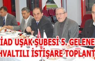 TÜMSİAD UŞAK ŞUBESİ 5. GELENEKSEL KAHVALTILI...