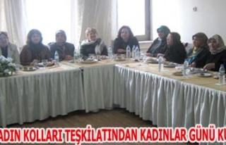 AK PARTİ KADIN KOLLARI TEŞKİLATINDAN KADINLAR GÜNÜ...
