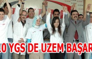 2010 YGS DE UZEM BAŞARISI