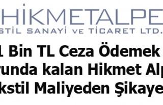 941 Bin TL Ceza Ödemek Zorunda kalan Hikmet Alper...