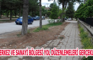 GEDİZ MERKEZ VE SANAYİ BÖLGESİ YOL DÜZENLEMELERİ...