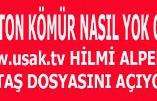 UTAŞ'TA HİLMİ ALPER DÖNEMİNDE 825 TN KÖMÜR...