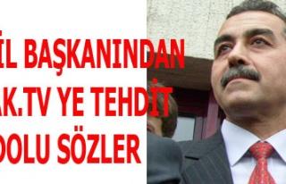 MHP İL BAŞKANINDAN USAK.TV YE TEHDİT