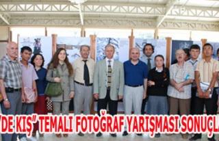 """GEDİZ'DE KIŞ"""" TEMALI FOTOĞRAF YARIŞMASI SONUÇLANDI"""