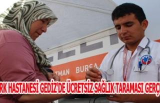MEDİCALPARK HASTANESİ GEDİZ'DE ÜCRETSİZ SAĞLIK...
