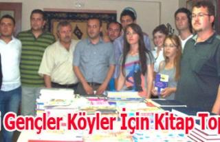 CHP'li Gençler Köyler İçin Kitap Topluyor