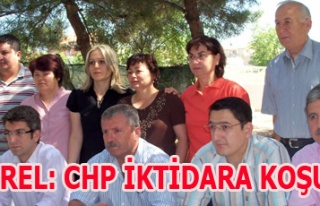 DEMİREL: CHP İKTİDARA KOŞUYOR