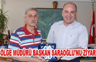 ORMAN BÖLGE MÜDÜRÜ BAŞKAN SARAOĞLU'NU ZİYARET...