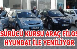 ELİT SÜRÜCÜ KURSU ARAÇ FİLOSUNU HYUNDAI İLE...