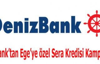 DenizBank'tan Ege'ye özel Sera Kredisi Kampanyası!