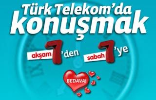 """Türk Telekom, """"7'den 7'ye Bedava Kampanyası''..."""
