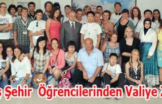 Kardeş Şehir Projesi Kapsamında 32 Öğrenci Vali...