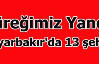 DİYABAKIRDA 13 ŞEHİT 7 YARALI