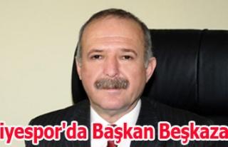 Belediyespor'da Başkan Beşkazalıoğlu