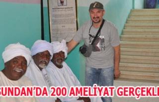 DR.EROL UYSAL SUDAN DA 200 AMELİYAT GERÇEKLEŞTİRDİ