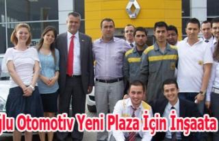 Çiftçioğlu Otomotiv Yeni Plaza İçin İnşaata...