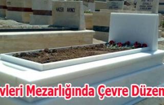 Şekerevleri Mezarlığında Çevre Düzenlemesi