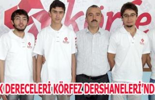 LYS UŞAK DERECELERİ KÖRFEZ DERSHANELERİ'NDEN...