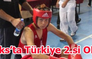 Türkiye Minikler Ferdi Boks şampiyonasında ilimizden...