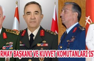 GENEL KURMAY BAŞKANI VE KUVVET KOMUTANLARI İSTİFA...