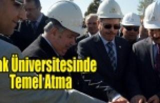 UŞAK ÜNİVERSİTESİNE FUTBOL SAHASI VE ATLETİZM...