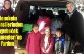 Anaokulu Öğrencilerinden Bayırbucak Türkmenleri'ne...