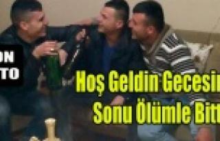 YİNE ALKOL YİNE GENÇ BİR ÖLÜM HABERİ