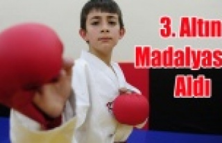 10 YAŞINDA 3.ALTIN MADALYASINI ALDI