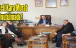 Uşak Belediyesi ve STK'lar Çeçeli Kara Murat'ı...